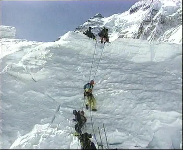 Eric on Everest