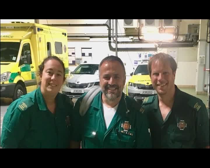 interviewing a paramedic