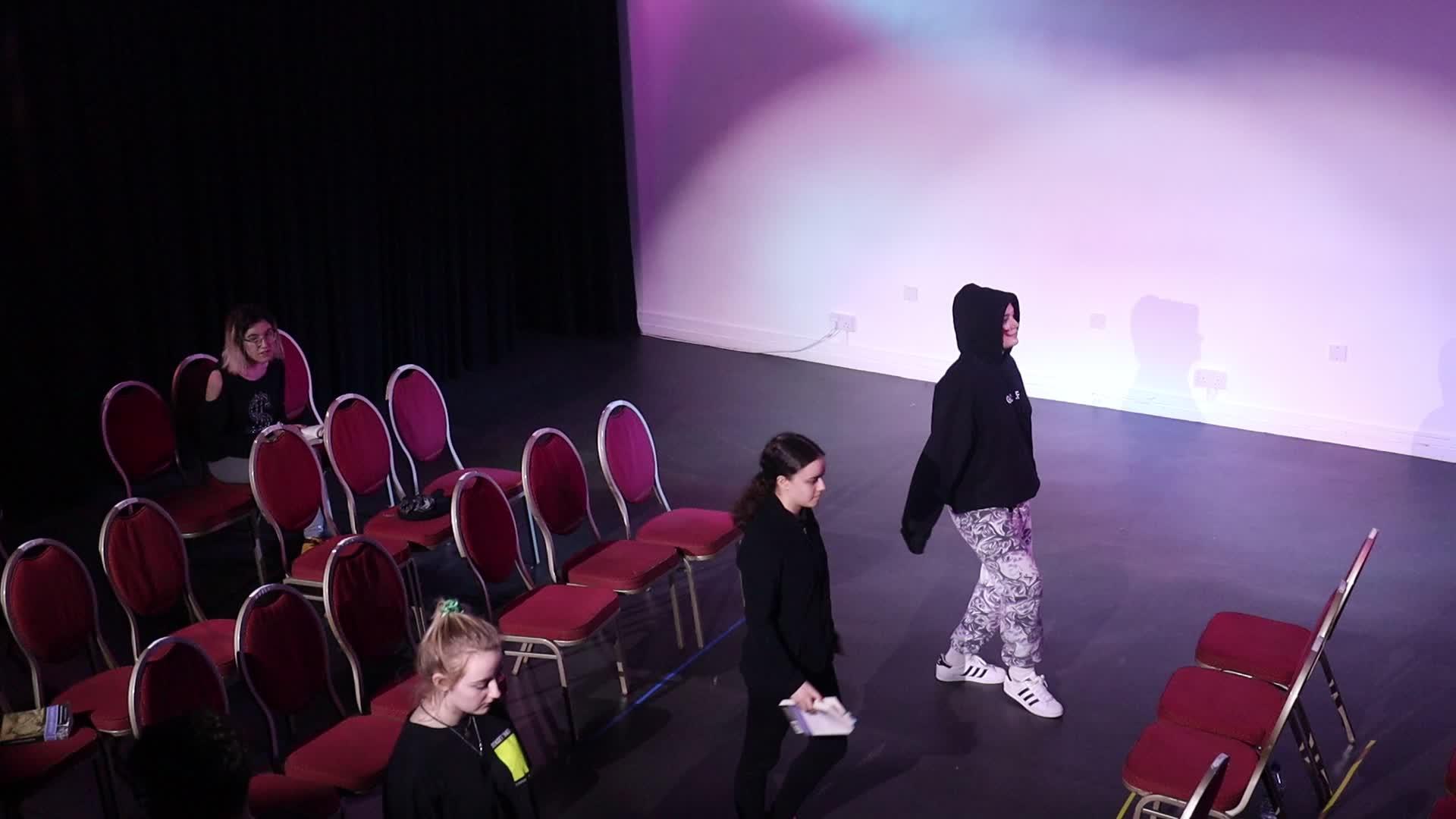 Planets scene rehearsal 1