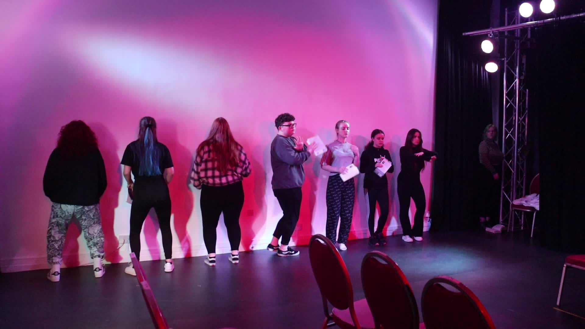 Planets scene rehearsal 2